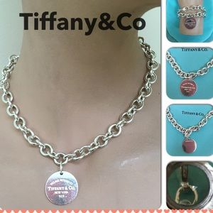 🔴🆑Authentic Please Return To Tiffany&Co Necklace