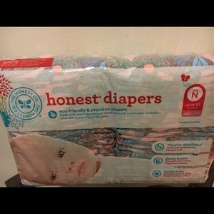 The Honest Company Other - NB the honest Co. diapers NEW