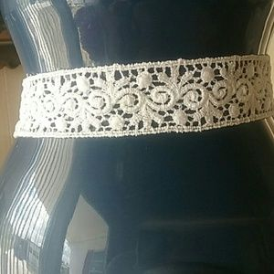Poetry in Motion  Jewelry - Vintage Lace Choker
