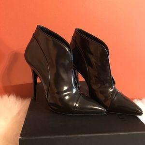 Proenza Schouler Shoes - Black leather PROENZA SCHOULER ankle booties