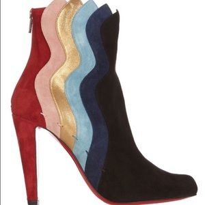 Christian Louboutin Shoes - Pre-Order Suede Christian Louboutin Ankle Boots
