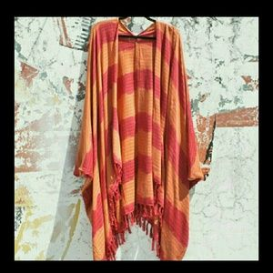 Ketzali  Accessories - Ketzali Ajyuq Kimono Poncho