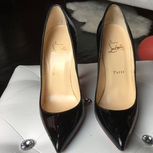 Christian Louboutin Shoes - CHRISTIAN LOUBOUTIN PIGALLE Black Patent Leather