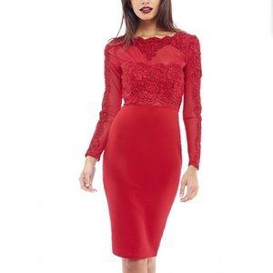 AX Paris Dresses & Skirts - Gorgeous lace midi dress