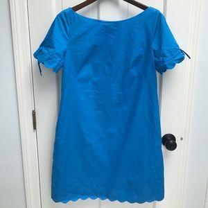 J.Crew scalloped dress