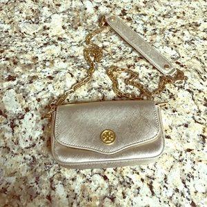 Tory Burch Handbags - Tory Burch Gold Chain Crossbody