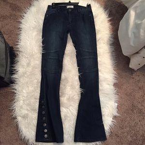 Free people skylar boot cut jeans