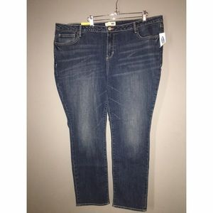 NEW with Tags Old Navy jeans Straight Droit Sz 18R