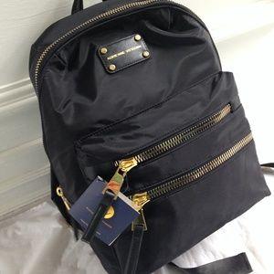 Adrienne Vittadini Handbags - Adrienne Vittadini Black Nylon Backpack