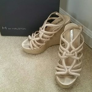 H by Halston Shoes - Halston Wedge