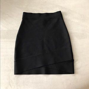 BCBGMaxAzria Dresses & Skirts - BCBG Max Azria black bodycon bandage skirt XS