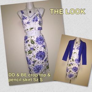 Do & Be Dresses & Skirts - DO & BE Crop Top & Pencil Skirt
