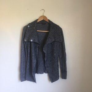 Topshop Sweaters - Topshop Grey Cozy Cardigan