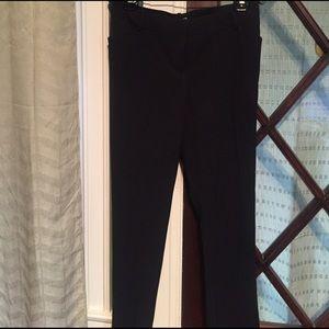 Tahari Woman Pants - Navy pin stripe tahari slacks