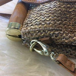Olivia + Joy Bags - Olivia + Joy Gold Miss Priss Satchel Bag