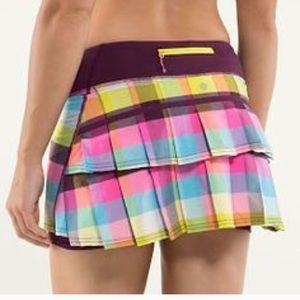 Lululemon Run pace setter skirt R 4
