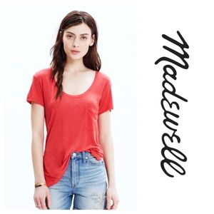 Madewell Anthem Scoop Neck Tee