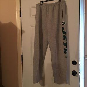 Reebok Other - Reebok  NFL Jets  Sweat pants with draw string