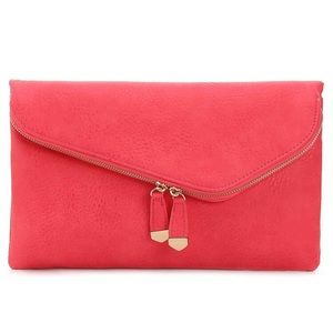 Urban Expressions Handbags - Urban Expressions Coral Stella Clutch