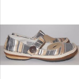 Simple Shoes - Simple Brand Silk Mary Janes 7 New