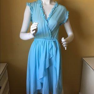 70's Terri Juniors California Vintage Dress