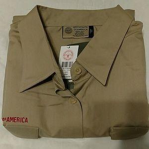 Tops - Ladies boy scout uniform shirt