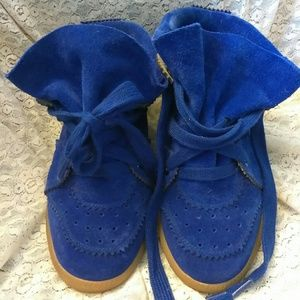 Isabel Marant Shoes - Isabel Marant Bobby hidden wedge sneakers EUC