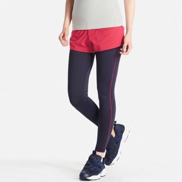 06ba3f9e17414 Uniqlo Women's Airism Activewear Leggings, XL. M_58dabe902fd0b773f015293a