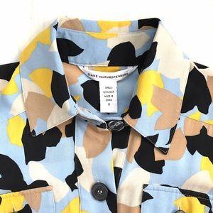 Diane von Furstenberg Dresses & Skirts - DVF Silk Dress • Shirt Dress • Button Front Dress