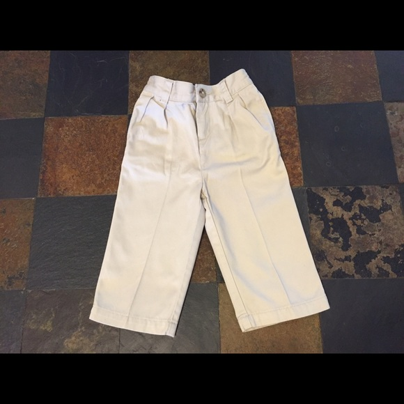 0f44e7efe Polo by Ralph Lauren Bottoms | Ralph Lauren Boys Pleated Khaki Pants ...