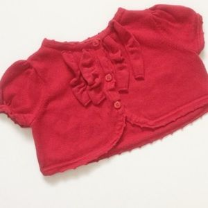 Janie and Jack Other - Janie And Jack red little sweater
