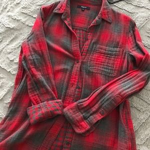 Madewell Flannel (with pockets!)