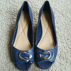 Reba Shoes - REBA Open Toed Wedges