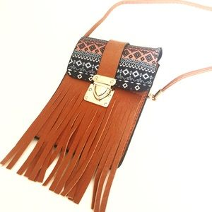 Handbags - Just In❤ Fringe Tribal Crosby