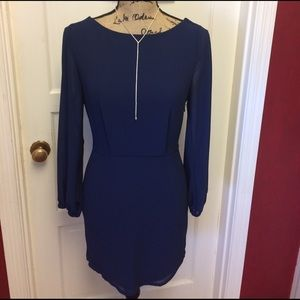 Tobi Dresses & Skirts - Gorgeous navy open back dress