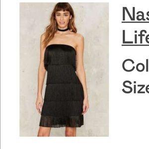 Nasty Gal fringe dress