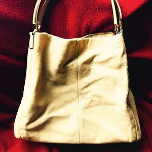 Ladies coach shoulder bag