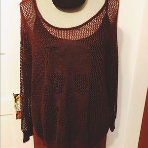 Decree Sweaters - Decree knit skull sweater
