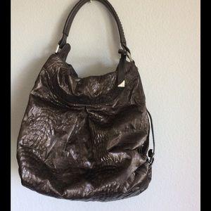 Francesco Biasia Handbags - Francesco Biasia hobo wet effect fabric Handbag
