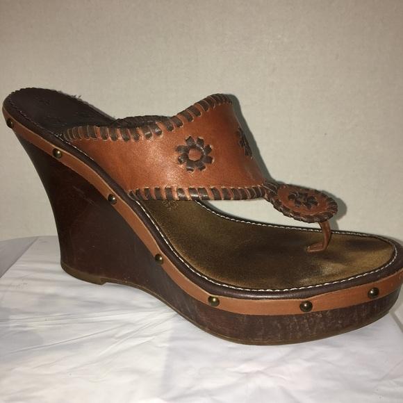 44156b60ea9 Jack Rogers Shoes - Jack Rogers Marbella Wedge Sandals