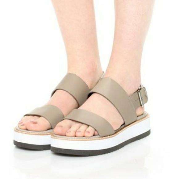 Vince Shoes Mana Flatform Sandals Poshmark