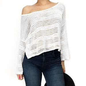C&C California Tops - C & C California knit off the shoulder top