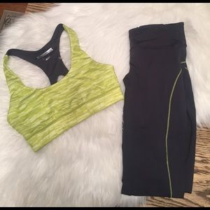 Forever 21 Other - Green and Gray Active set