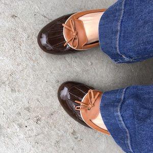 L.L. Bean Shoes - LL Bean Patent Leather Coastal Rain Skimmer Flats
