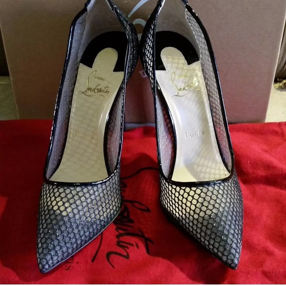 on sale f909d d92bf ***SOLD** Christian Louboutin Follies Lace size 38 NWT