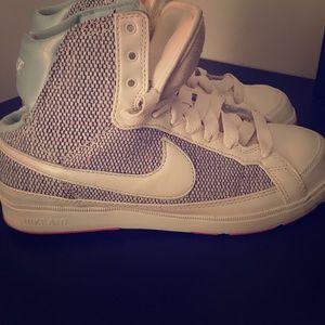 High-Top Nike Air Sneakers