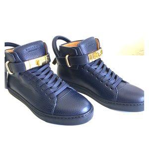 Buscemi Shoes - New Buscemi Sneakers Women  100 MM   Blue Prussia