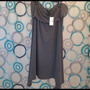 Lane Bryant Tops - Lane Bryant top gray New sleeveless size 22