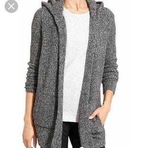 Athleta Sweaters - Athleta mill valley open sweater hoodie wool