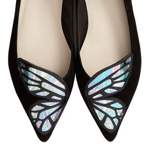 Sophia Webster Shoes - A pair of flat shoes